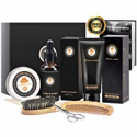 Deals List: Xikezan 8 in 1 Mens gifts for Men Beard Care Growth Grooming Kit