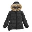 Deals List: Weathertamer Big Girls Puffer Coat with Faux Fur Trimmed Hood