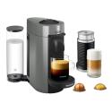 Deals List: Nespresso VertuoPlus Coffee and Espresso Maker Bundle with Aeroccino Milk Frother by De'Longhi, Grey
