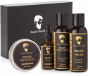 Deals List: Beard Grooming kit for Men Care - Unscented Beard Oil, Beard Shampoo Wash, Beard Conditioner Softener, Fragrance Free Beard Balm Leave-in Wax Butter - for Styling Shaping & Growth Mustache Gift Set