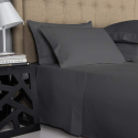 Deals List: Comfy Sheets Luxury 100% Egyptian Cotton - Genuine 1000 Thread Count 4 Piece Sheet Set-Fits Mattress Up to 18'' Deep Pocket (Queen, Dark Grey)