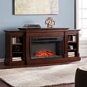 Deals List: Orian Widescreen Electric Fireplace with Bookcases, Espresso by SEI