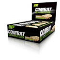 Deals List: MusclePharm Combat Crunch Protein Bar, Multi-Layered Baked Bar, 20g Protein, Low Sugar, Low Carb, Gluten Free, Cinnamon Twist, 12 Bars