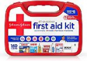 Deals List: Johnson & Johnson All-Purpose Portable Emergency First Aid Kit for Home & Travel, 140 pc