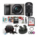 Deals List: Sony Alpha A6000 Camera w/16-50 & 55-210mm Lenses + 128GB Card