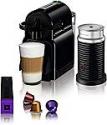 Deals List: Nespresso Inissia Original Espresso Machine with Aeroccino Milk Frother Bundle by De'Longhi, Black