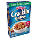 Deals List: Kellogg's Breakfast Cereal, Cracklin' Oat Bran, Excellent Source of Fiber, Made with Whole Grain, 17 oz Box(Pack of 10)