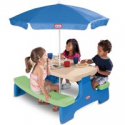 Deals List: Little Tikes Easy Store Picnic Table with Umbrella