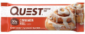 Deals List: Quest Nutrition Cinnamon Roll Protein Bar, High Protein, Low Carb, Gluten Free, Soy Free, Keto Friendly, 12 Count