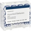 Deals List: Insignia™ - Assorted Batteries with Storage Box (33-Pack), NS-CBATBOX
