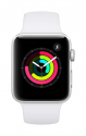 Deals List: Apple Watch Series 3 (GPS, 42mm) - Silver Aluminium Case with White Sport Band