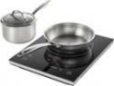 Deals List: Insignia™ - 4-Piece Induction Cooktop Set - Black, NS-IC87BK6