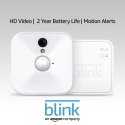 Deals List: Blink Indoor Home Security Camera System with Motion Detection, HD Video, 2-Year Battery Life and Cloud Storage Included - 1 Camera Kit