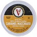Deals List: Victor Allen's Coffee K Cups, Caramel Macchiato Single Serve Medium Roast Coffee, 80 Count, Keurig 2.0 Brewer Compatible