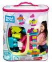 Deals List: Mega Bloks Big Building Bag, Pink, 80 Piece