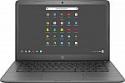 "Deals List: HP - 14"" Touch-Screen Chromebook - Intel Celeron - 4GB Memory - 32GB eMMC Flash Memory - Grey Model:14-CA061DX ,14-CA061DX"
