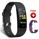 Deals List: Juboury Fitness Tracker HR Activity Tracker Watch w/Extra Band