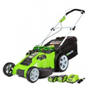 Deals List: Greenworks 20-Inch 40V Twin Force Cordless Lawn Mower, 4.0 AH & 2.0 AH Batteries Included 25302