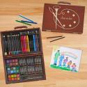 Deals List: Personalized 80-Piece Art Set - 12 Designs