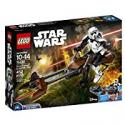 Deals List: LEGO Construction Star Wars Scout Trooper and Speeder Bike 75532