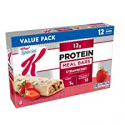 Deals List: Special K Protein Meal Bars, Strawberry, Value Pack, 19 oz (12 Count)