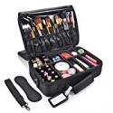 Deals List: MelodySusie Makeup Train Case 3 Layers Makeup Travel Bag
