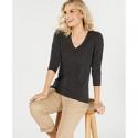 Deals List: Charter Club Pure Cashmere V-neck Sweater