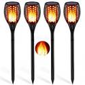 Deals List: 4-Pack Aityvert Solar Torch Lights