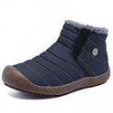 Deals List: CIOR Men and Women Snow Boots Fur Lined Slip On Shoes