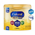 Deals List: Enfamil NeuroPro Infant Formula - Brain Building Nutrition Inspired by Breast Milk - Reusable Powder Tub, 20.7 oz (Pack of 6)