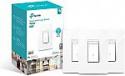 Deals List: TP-LINK HS220P3 Kasa Smart WiFi Light Switch, Dimmer (3-Pack), White