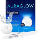 Deals List: AuraGlow Teeth Whitening Pen, 35% Carbamide Peroxide, 15+ Whitening Treatments, No Sensitivity, 2mL