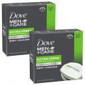 Deals List: Dove Men+Care Body and Face Bar, Extra Fresh, 4 oz, 20 Bar