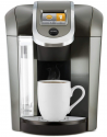 Deals List: Keurig K575 Single Serve K-Cup Pod Coffee Maker with 12oz Brew Size, Strength Control, and Hot Water on Demand, Programmable, Platinum