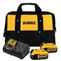 Deals List: Dewalt 20V Max 5.0Ah Starter Kit w/2 Batteries + 2 Free Tools