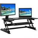 Deals List: BCP Height Adjustable Standing Desk Monitor Riser Sit/Stand Workstation