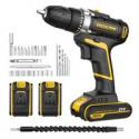 Deals List: URCERI 21V Cordless Electric Drill Driver Kit PL21-2