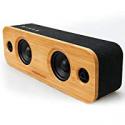 Deals List: Aomais Life 30w Bluetooth Loud Bamboo Wood Home Audio Wireless Speaker