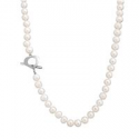 Deals List: 7mm Cultured Freshwater Pearl Necklace With Toggle Clasp