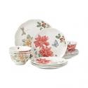 Deals List: Lenox Butterfly Meadow Holiday 12-Piece Dinnerware Set