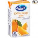 Deals List: Ocean Spray 100% Orange Juice, 4.2 Ounce Juice Box (Pack of 40)