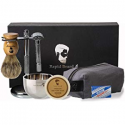 Deals List: Beard Grooming & Trimming Kit for Men Care - Beard Brush, Beard Comb, Unscented Beard Oil Leave-in Conditioner, Mustache & Beard Balm Butter Wax, Barber Scissors for Styling, Shaping & Growth gift set