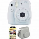 Deals List: FUJIFILM INSTAX Mini 9 Instant Film Camera with Instant Film and Case Kit