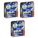 Deals List:  3 x 4-Ct Gillette Fusion Proglide Refill Cartridges