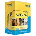 Deals List: Rosetta Stone: Learn Spanish (Latin America) with Lifetime Access on iOS, Android, PC, and Mac - mobile & online access [PC/Mac Online Code] with $25 Amazon Gift Card