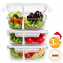 Deals List: BAYKA Glass Meal Prep Containers 36 Oz 3-Pack