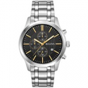 Deals List: Bulova Mens 96B305 Chronograph Stainless Steel Bracelet Watch
