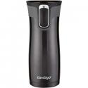 Deals List:  Contigo Vacuum-Insulated Stainless Steel Coffee Mug | AUTOSEAL West Loop Travel Mug, 16 oz, Black