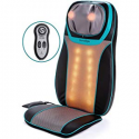 Deals List: Shiatsu Back Neck and Shoulder Massager with Heat - Deep Tissue 3D Kneading Pillow Massager for Neck, Back, Shoulders, Foot, Legs - Electric Full Body Massage, Relieve Muscle pain- Stocking, Home, Car