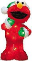 Deals List: ProductWorks 18-Inch Pre-Lit Sesame Street Elmo in Green Santa Hat Christmas Yard Decoratio